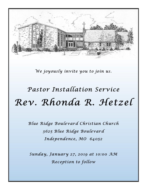 rhonda installation invite
