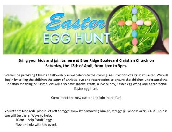 2019 Easter Egg Hunt edited